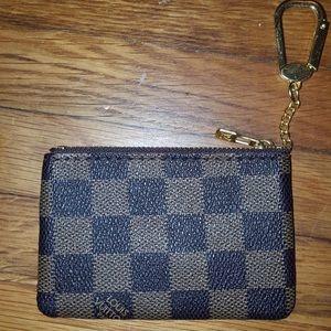key chain & coin purse inspired